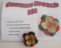 Cosmos Brooch Kit