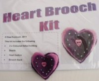 Heart Brooch Kit