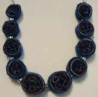 Millefiori Felt Necklace 7